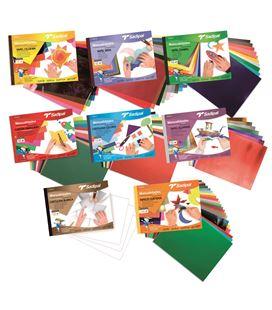 Papel aluminio bloc 10h colores sadipal 06199 - 113886