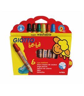 Pintura madera infantil be-be giotto 6u. fila 460100 466400