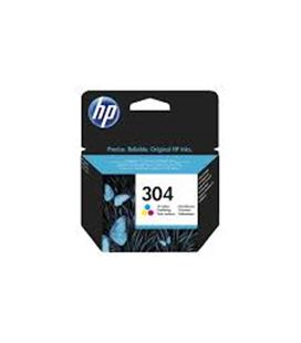Cartucho deskjet color 100paginas nº 304 n9k05ae hp - 56829