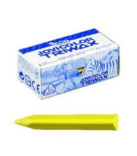 Pintura de cera triangular amarillo claro triwax c.12 jovi 973/01