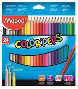 Pintura madera 24 colores maped 183224 - 183224_PA_BOX