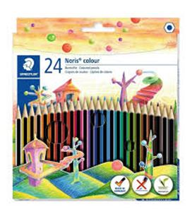 Lapicero lapizs color noris colours cj.24 uds surtidos staedtler 185 c24 009215