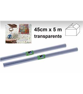 Foliorro plastico transpa rollo 0,45mtsx5mts renolit p12987 00003