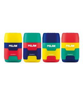 Sacapuntas y goma afilaborras compact mix milan 4710236