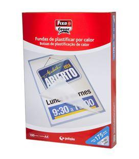 Bolsa plastificacion a3 80 micras brillo grafolioplas 01020000