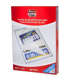Bolsa plastificacion a3 80 micras brillo grafoplas 01020000 - GP1020000