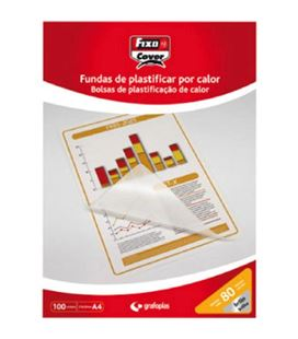 Bolsa plastificacion a4 80 micras c.100 grafolioplas 01020100