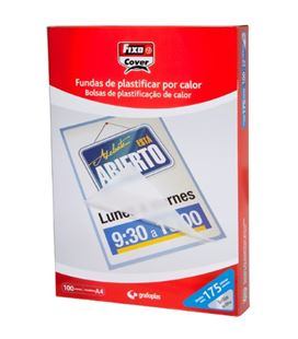 Bolsa plastificacion a3 125 micras c.100 grafolioplas 01021000