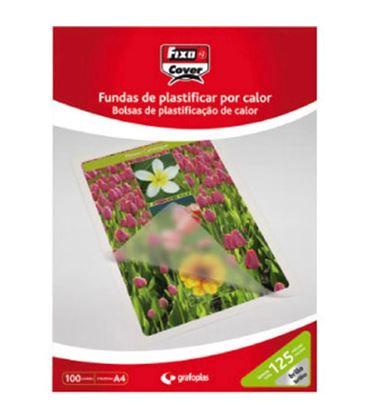 Bolsa plastificacion a4 125 micras c.100 grafolioplas 01021100 - 01021100