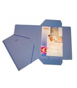 Carpeta gomas solapa folio azul saro 1002