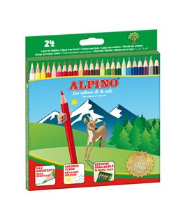 Pintura madera c.24 alpino al000658 006589