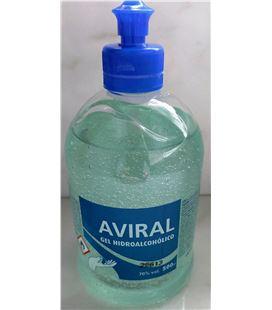 Gel hidroalcoholico alta calidad 500ml aviral - 61953