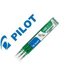 Recambio frixion verde 3u. pilot bls-fr7-g