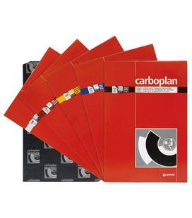 Papel carbon 21x.33cm amarillo c.100 grafolioplas 82062160 - 82062160
