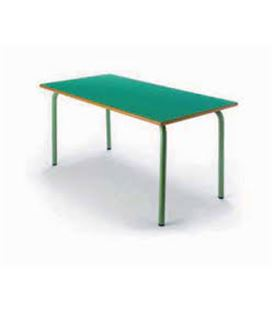 Mesa mod.280 verde tapa laminado sobre dm verde tagar ld- 302 - 280999900