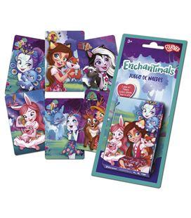 Baraja infantil 40 cartas echantimals foliournier 1040726 45176 - 1040726