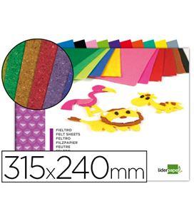 Fieltro bloc 10h 240x315 colores liderpapel 50335 tm11 - 50335