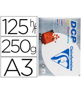 Papel a3 250gr 125h blanco clairefoliontaine 1858 - 72402