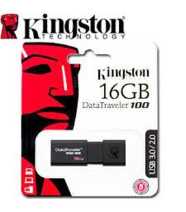 Memoria usb 16gb kingston dt100g3/16gb (incluye canon lpi 0,24?) - 45013539