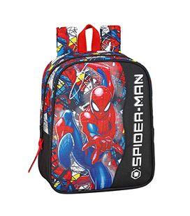 Mochila guarderia spiderman super hero safta 611943232 - 611943232