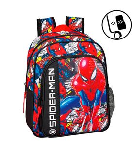 Mochila infantil spiderman super hero safta 611943524 - 611943524