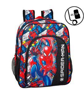 Mochila junior spiderman super hero safta 611943640 - 611943640