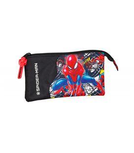 Estuche vacío triple spiderman super hero safta 811943744 - 811943744