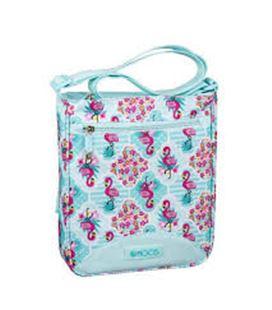 Bolsito bandolera moos flamingo turquoise safta 611918431 - 611918431