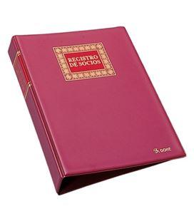 Libro contable folio registro de socios recambiable 100h dohe 09923 - 09923
