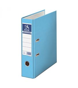 Archivador palanca fº 70mm azul claro archicolor dohe 90210