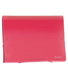 Clasificador acordeon pp rojo translucido dohe 90615 - 90615