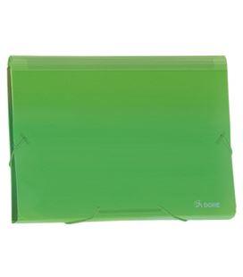 Clasificador acordeon pp verde translucido dohe 90617 - 90617