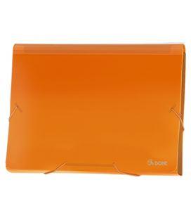 Clasificador acordeon pp naranja translucido dohe 90618 - 90618