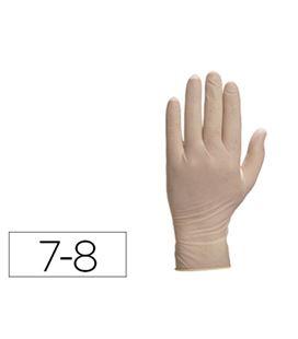 Guantes latex medianos talla 7-8 c.100 deltaplus v1310**08 01962 - 75863