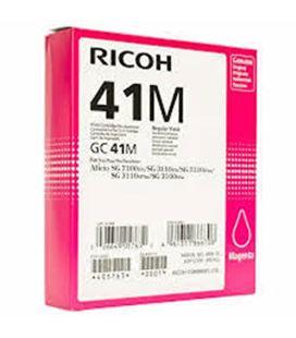 Cartucho inyeccion magenta gc-41m ricoh 405763 - 15729