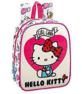 Mochila guarderia hello kitty girl gang safta 611816232 - 611816232