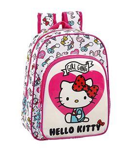 Mochila infantil hello kitty girl gang safta 611816185 - 611816185