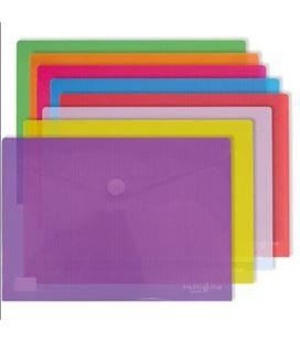 Sobre pp a3 velcro translucido violeta grafolioplas 04872435