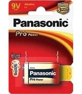 Blister 1 pila 9v (6lr61) alkaline power panasonic 03930 - 23401169