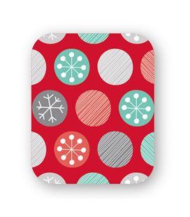 Papel regalo bobina rojo-nieve 62cmx190mts grafolioplas 66950206 - 66950206
