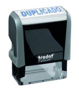 Sello automatico printy 4911 contabilizado en azul trodat 4911 - 26001044