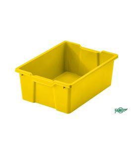 Cubeta grande de 45cms sin tapa amarillo faibo 785-05