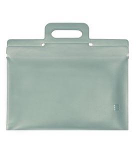 Portafoliolios con asa gris j214 finocam 5390150 - 5390150