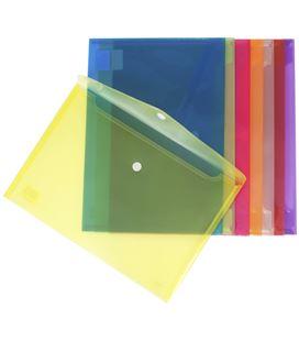 Sobre velcro folio polipropileno translucido verde grafolioplas 04872220 - 57278