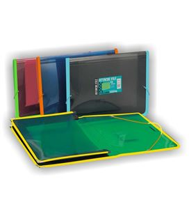 Carpeta gomas a4 pp lomo ancho de tela folioldermate pgp 80399