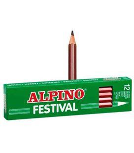 Pintura madera marron 12 unidades festival alpino c0131007 c0131007