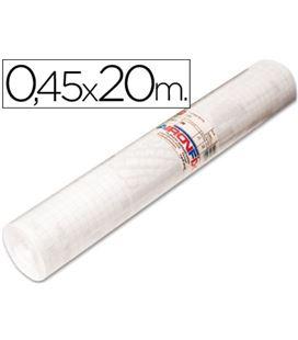 Foliorro adhesivo transparente 67000 45x20mt aironfix 67000