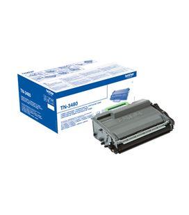 Toner laser negro 8000paginas alta capacidad brother tn-3480 - 56810