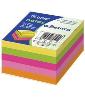 Notas adhesivas 75x75 5 colores neon 400h dohe 75011
