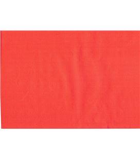 Papel regalo 62cmx200mts bobina verjurado rojo impresma rojo 62